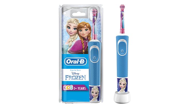 3 מברשת שיניים חשמלית לילדים אורל בי Oral-B