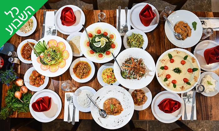 4 ארוחה זוגית במסעדת השמן והזיתים, נצרת