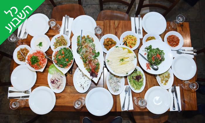 9 ארוחה זוגית במסעדת השמן והזיתים, נצרת