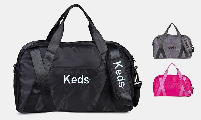 2 תיק ספורט KEDS - משלוח חינם