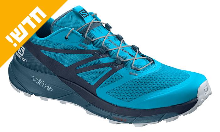 4 נעלי ריצת שטח לגברים סלומון Salomon