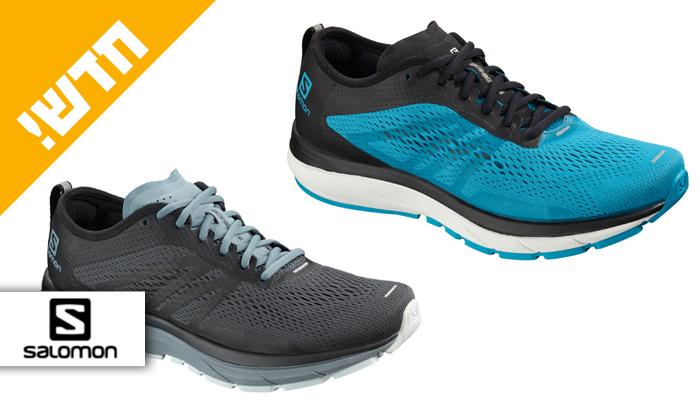 2 נעלי ריצת כביש לגברים סלומון Salomon