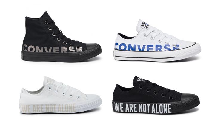2 נעלי סניקרס קונברס אולסטאר לגברים ולנשים CONVERSE All Star