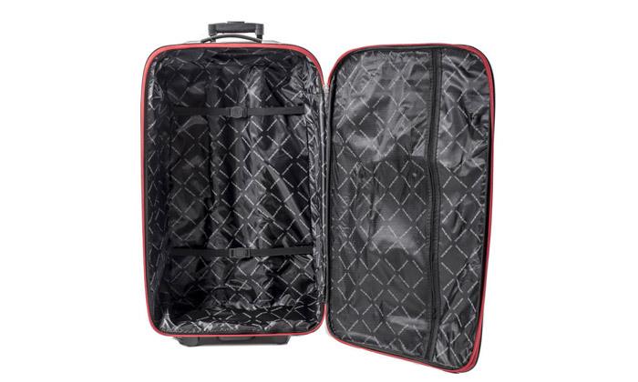 4 מזוודות SWISS קלות במיוחד - גדלים וצבעים לבחירה