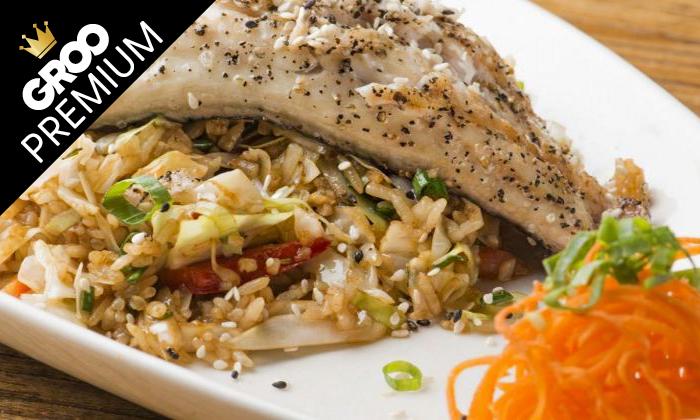 4 פסטיבל אומקסה של ימה וקדמה: ארוחה זוגית במסעדת טורי TORII סניף תל אביב