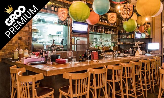 3 פסטיבל אומקסה של ימה וקדמה: ארוחה זוגית במסעדת טורי TORII סניף תל אביב