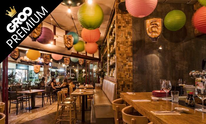5 פסטיבל אומקסה של ימה וקדמה: ארוחה זוגית במסעדת טורי TORII סניף תל אביב