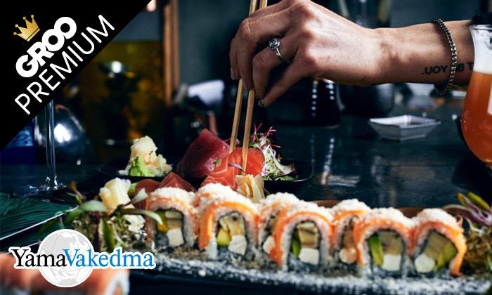 2 פסטיבל אומקסה של ימה וקדמה: ארוחה זוגית במסעדת טורי TORII סניף תל אביב