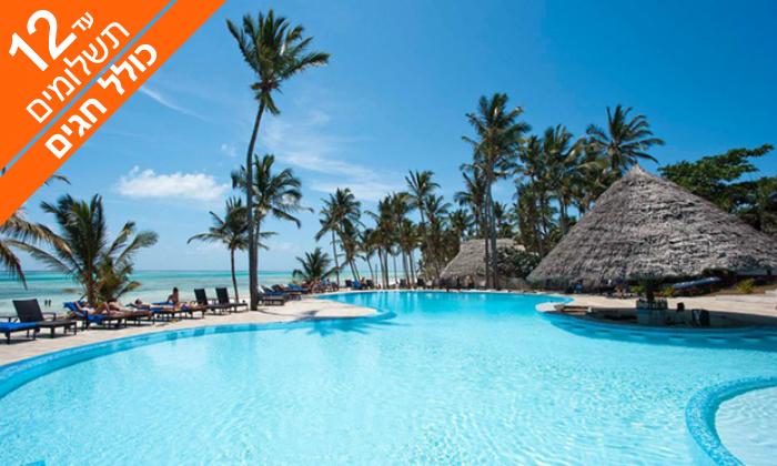 6 קיץ וחגים הכול כלול בזנזיבר - חופים לבנים, קוקוסים ומלון 5 כוכבים