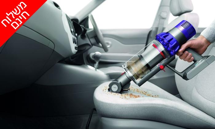 4 שואב אבק Dyson V10 Animal, כולל משלוח חינם וסט אביזרים לרכב