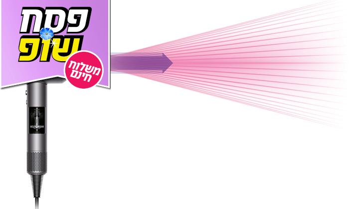 3 מייבש שיער דייסון Dyson Supersonic - משלוח חינם