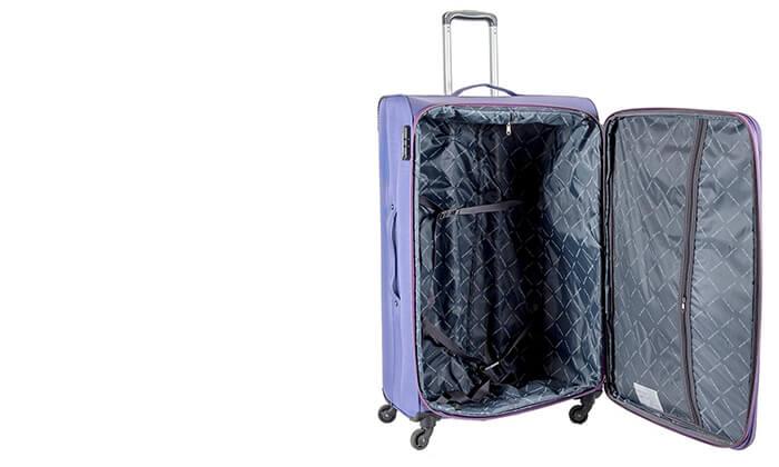 6 מזוודה משפחתית 32 אינץ' SWISS
