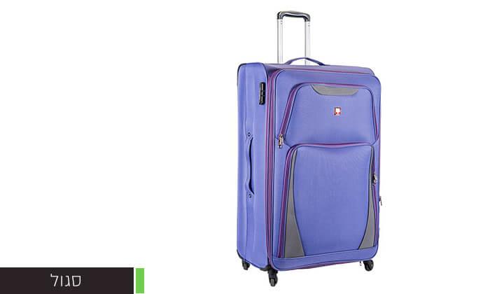 3 מזוודה משפחתית 32 אינץ' SWISS