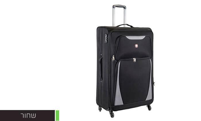 5 מזוודה משפחתית 32 אינץ' SWISS