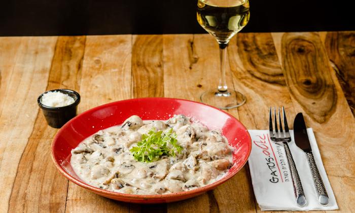 7 ארוחה זוגית כשרה במסעדת גאטוס GATOS, אשקלון