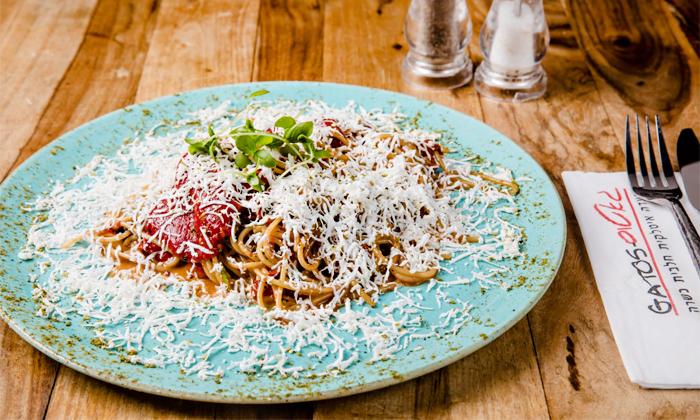 14 ארוחה זוגית כשרה במסעדת גאטוס GATOS, אשקלון