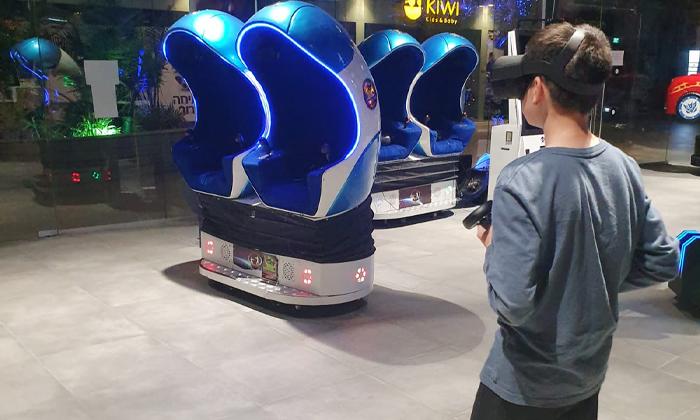 6 משחק במתחם המציאות המדומה פאטה מורגנה VR אשקלון