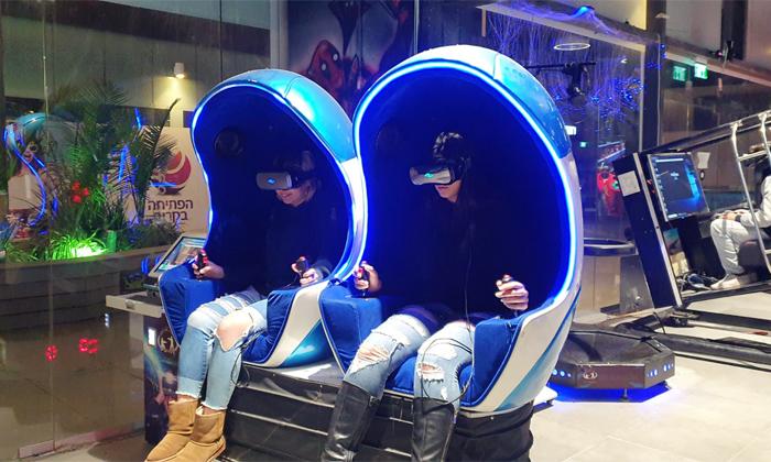 2 משחק במתחם המציאות המדומה פאטה מורגנה VR אשקלון