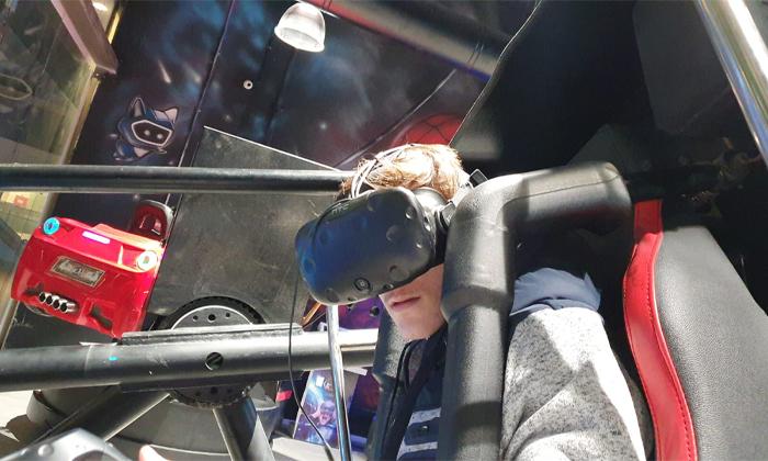 4 משחק במתחם המציאות המדומה פאטה מורגנה VR אשקלון