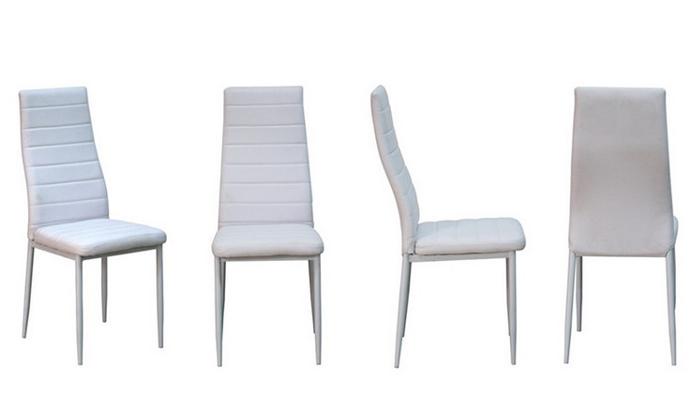 3 פינת אוכל עם 6 כיסאות