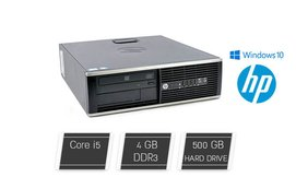 מחשב נייח קטן HP מעבד i5