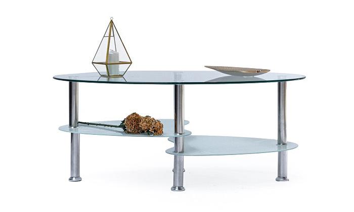 7 שולחן קפה אליפסה