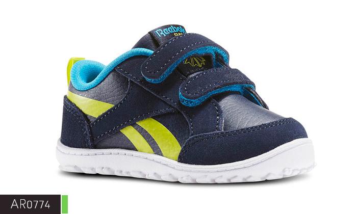 6 נעלי תינוקות Adidas ו-Reebok
