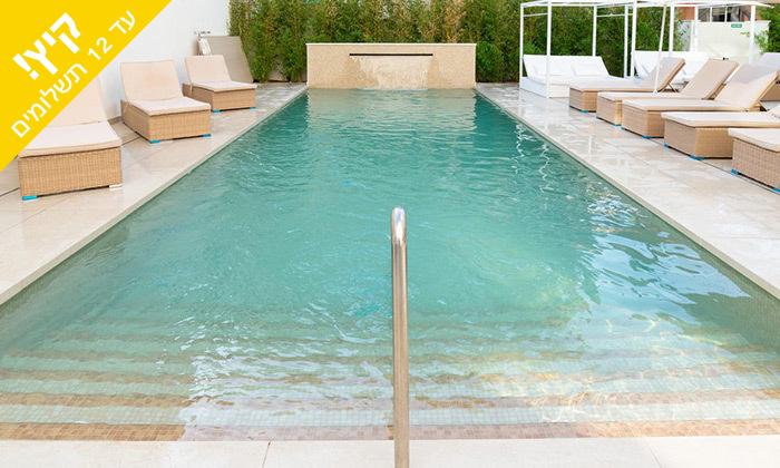 5 יולי-אוגוסט בפלמה דה מיורקה - מלון מפנק סמוך לחוף הים