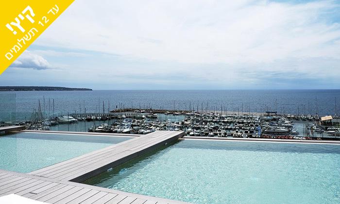 4 יולי-אוגוסט בפלמה דה מיורקה - מלון מפנק סמוך לחוף הים