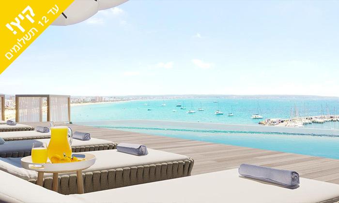 2 יולי-אוגוסט בפלמה דה מיורקה - מלון מפנק סמוך לחוף הים