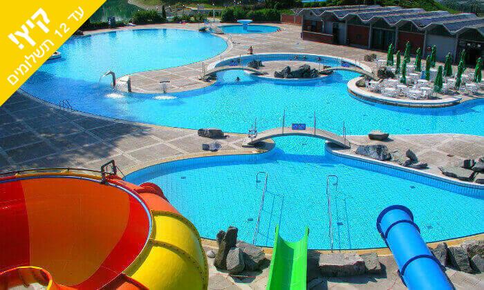 5 יולי-אוגוסט בסלובניה - מלון Terme Catez כולל פארק מים