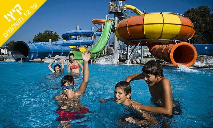 2 יולי-אוגוסט בסלובניה - מלון Terme Catez כולל פארק מים