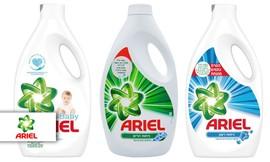 4 בקבוקי ג'ל כביסה אריאל