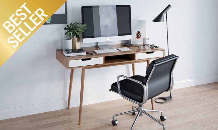 2 שולחן מחשב דגם ריימס
