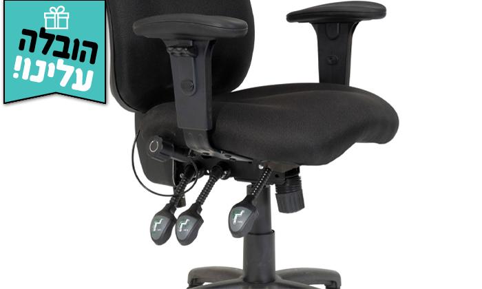 """4 ד""""ר גב: כיסא מחשב DELTA בצבעים לבחירה - משלוח חינם"""