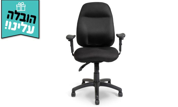 """5 ד""""ר גב: כיסא מחשב DELTA בצבעים לבחירה - משלוח חינם"""