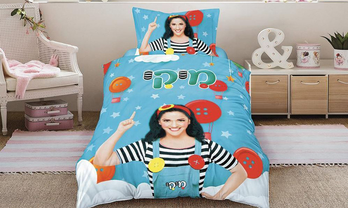 4 סט מצעי ילדים למיטת יחיד