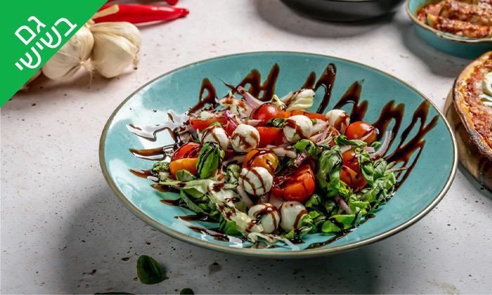 11 ארוחה זוגית איטלקית במסעדת פום-פיי הכשרה, ראשון לציון