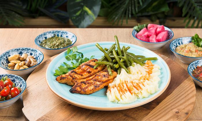 7 ארוחה במסעדת צ'ומה גן העיר תל אביב