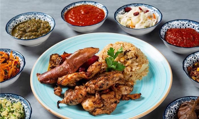 9 ארוחה במסעדת צ'ומה גן העיר תל אביב