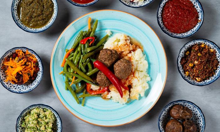 4 ארוחה במסעדת צ'ומה גן העיר תל אביב