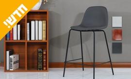 כיסא בר בריפוד דמוי עור