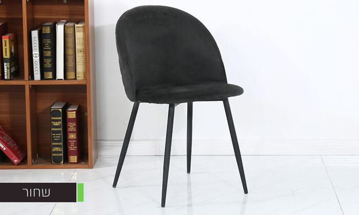 8 כיסא אוכל מרופד
