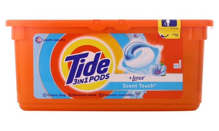3 78 קפסולות ג'ל לכביסה טייד Tide