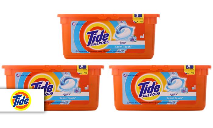 2 78 קפסולות ג'ל לכביסה טייד Tide