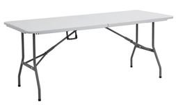 """שולחן מתקפל 180 ס""""מ"""