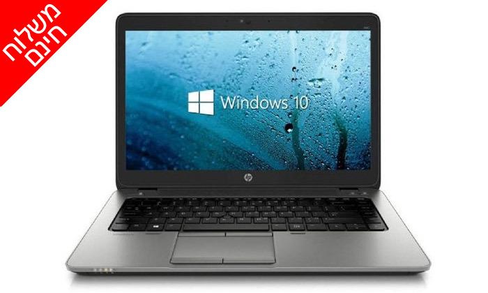 """5 מחשב נייד HP מחודש, דגם 840G1 עם מסך """"14, זיכרון 8GB ומעבד i5 - משלוח חינם"""