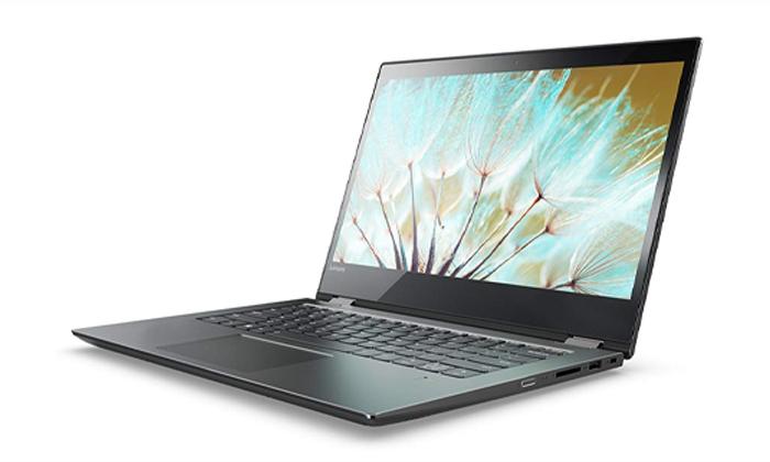 4 מחשב נייד לנובו LENOVO עם מסך מגע מתהפך 15.6 אינץ' וכ. גרפי GeForce MX1