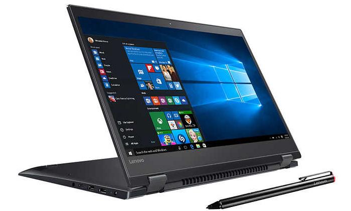 3 מחשב נייד לנובו LENOVO עם מסך מגע מתהפך 15.6 אינץ' וכ. גרפי GeForce MX1