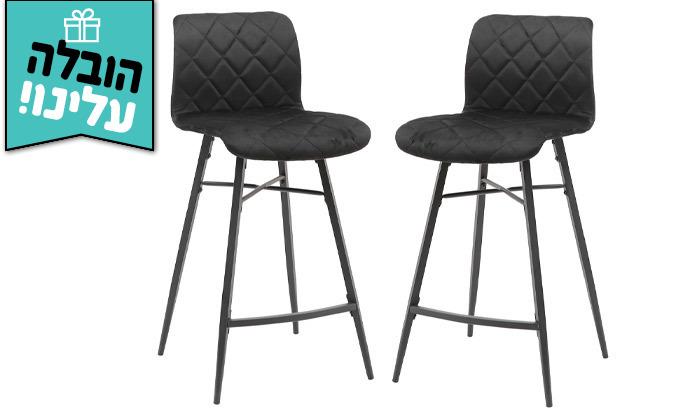 4 זוג כיסאות בר HOME DECOR - משלוח חינם
